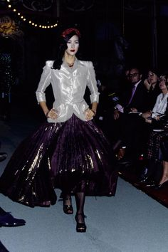 Jean Paul Gaultier Spring 1995 Ready-to-Wear Fashion Show - Natane Boudreau