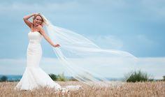 Bridal Floating Veil Wedding Photography Veil, One Shoulder Wedding Dress, Our Wedding, Wedding Photography, Bridal, Wedding Dresses, Weddings, Fashion, Bride Dresses