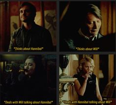Now both of them have BFs that are too sober for their #full homo. Hannibal edit. Source: color-division.tumblr