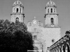 Plaza y Parroquia de Jalostotitlan Jalisco Mexico