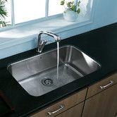 """Found it at Wayfair Supply - 30"""" x 18"""" Undermount Single Bowl Kitchen Sink $299"""