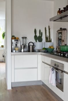 """This contemporary kitchen is from our feature """"Quirky Talents"""