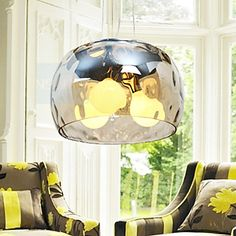 Italian Style Modern  3 Light Pendant With Transparent Shade – USD $ 235.99