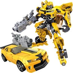 New Anime Action Figure Robot Transformer Funko Pop Car-Styling Robot Anime Assembled Gundam Cars Robot PVC Model Toys for Kids