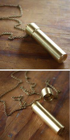 Secret Vial Necklace