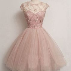 Short prom dress, pink prom dress, a-line prom dress, cute prom dress, pretty prom dress, bd14302