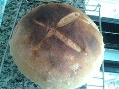 Pan payes con masa madre