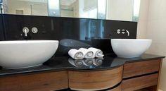 Stunning sink and pedestal. Bespoke Furniture, Pedestal, Dog Bowls, Sink, Bath, Home Decor, Sink Tops, Vessel Sink, Bathing