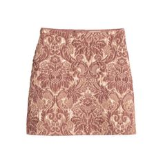 H&M's pink jacquard mini-skirt. Uk Fashion, Fashion Editor, Fashion Outfits, Skirt Fashion, Jacquard Weave, British Style, Who What Wear, Sequin Skirt, Mini Skirts