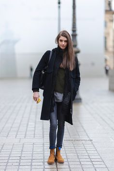 Model Off Duty: Josephine Van Delden - PFW Fall 2014 Street Style