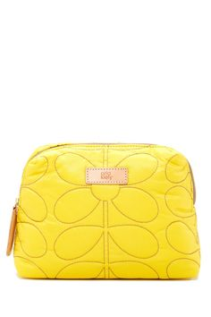 Orla Kiely | Sixties Stem Quilted Wash Bag