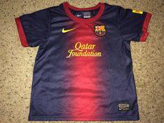 Sale Vintage Nike FC BARCELONA Soccer Jersey Retro by casualisme