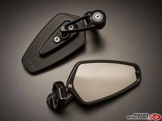 CRG Arrow Bar-End Motorcycle Mirrors