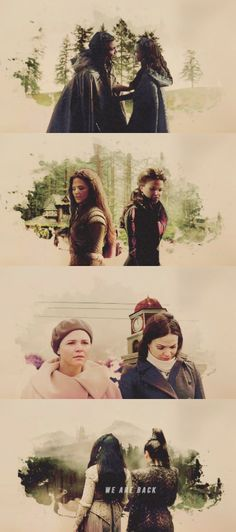 Back to where it all began... Snow & Regina - Once Upon a Time