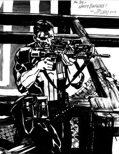 Punisher by John Paul Leon *