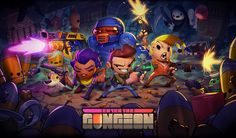 Official promotional illustration done for the indie game Enter the Gungeon.