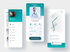 Medical App designed by Armando Vázquez. Connect with them on Dribbble; Flat Web Design, App Ui Design, Mobile App Design, Interface Design, User Interface, Purchase App, Google Play Codes, Mobile Ui Patterns, Mobile App Ui