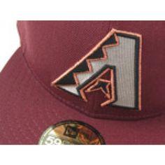 Arizona Diamondbacks (MAROON/METALLIC SILVER/COPPER)
