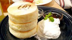 極厚なのに驚きのふんわりやわらかパンケーキ「ホワイトスフレパンケーキ」をバーンサイドストリートカフェで食べてきた - GIGAZINE