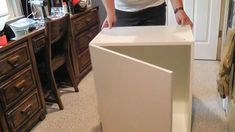 In this project, I turned seven standard kitchen cabinets from IKEA into a platform bed for my daughter. The total cost was around $480 for the cabinets, lumber… #bedding