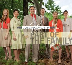 The Collingsworth Family....My absolute favorite singing group of all time!!!!