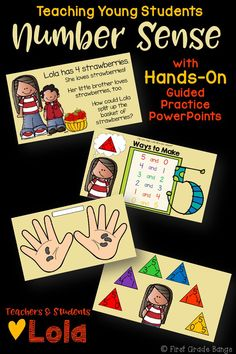 **Common Core Aligned!** This bundle includes 9 interactive PowerPoint guided practice lessons to keep students engaged and learning! These lessons use number bond mats, cubes, ten frames, and dry erase boards to work hands-on along with Lola. These lessons are great companions to any Common Core Math boxed curriculum.  Kids love the characters and familiar scenarios, and teachers love how all the work is done for them. Just play each lesson as a slideshow and encourage student participation! $