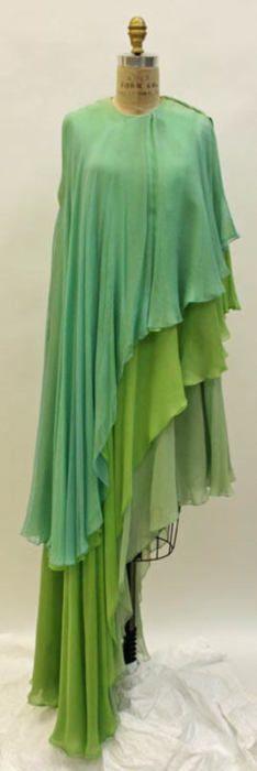 1960s Madame Grès dress via The Costume Institute of the Metropolitan Museum of Art ...
