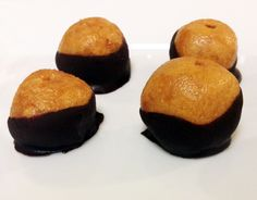 P28 Peanut Butter Buckeyes | P28 | Food That Performs.