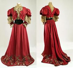 The Metropolitan Museum of Art, New York, by Jeanne Paquin, Dress (1905-1907)