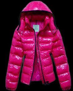 7d5d92310644 Moncler Jacket Mabel Quilted Hooded Pink discount online Manteau De Duvet,  Swarovski Outlet, Doudoune