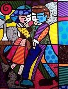 A arte de Romero Brito ...                                                                                                                                                                                 Mais