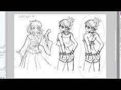 Basic Manga Studio 5/Photoshop Tutorial Pt.1