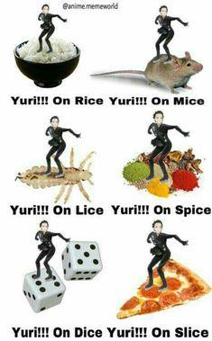 Read Memes III from the story Yuri! on Ice by AoXian_Fu_Kurohikari (Aoxian Kurohikari. Pork Cutlet Bowl, Pork Cutlets, ユーリ!!! On Ice, Ice Ice Baby, Yuri No Gelo, 19 Days Manga Español, Yuri On Ice Comic, Katsuki Yuri, Yuuri Katsuki