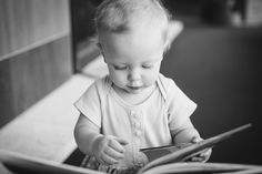 Baby 1 year library - Emily Davidson Photography