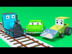 Vehiculos de transporte para niños - YouTube