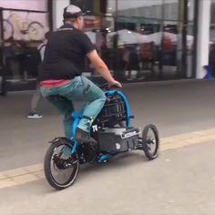 Trike Scooter, Tricycle Bike, Bullitt Bike, Eletric Bike, Titanium Road Bike, Electric Cargo Bike, Velo Cargo, Reverse Trike, Concept Motorcycles