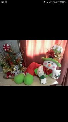 Christmas Ideas, Christmas Wreaths, Christmas Ornaments, Christmas Stockings, Snowman, Holiday Decor, Home Decor, Xmas, Tela