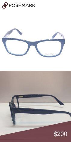 07d5eab2006 Salvatore Ferragamo- SF 2693 size 52 412 Ferragamo Men s Optical Frame Navy  Blue comes with original case Salvatore Ferragamo Accessories Glasses