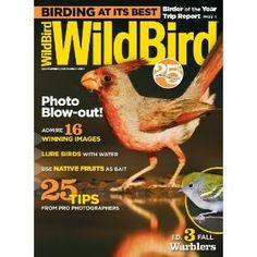 WildBird (1-year auto-renewal), (bird magazine, birds)
