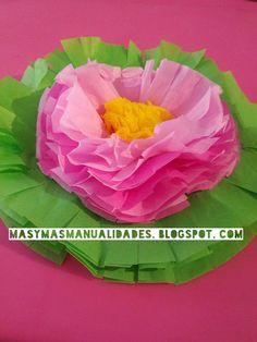 Cómo hacer flores de papel de seda para una mesa de fiesta Minnie Mouse Party, Mouse Parties, Ideas Para Fiestas, Paper Flowers, Wedding Decorations, Paper Crafts, Crafty, Outdoor Decor, China