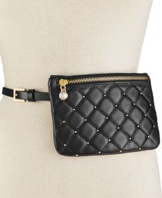 Inc International Concepts Quilted Dot Fanny Pack, Only at Macy's