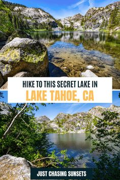 Tips for hiking to Eagle Lake in Lake Tahoe. Eagle Lake California | Eagle Lake Tahoe | Emerald Bay Lake Tahoe #emeraldbay #laketahoehikes #desolationwildernesshikes California Travel Guide, California Destinations, Beautiful Places To Visit, Cool Places To Visit, Emerald Bay Lake Tahoe, Travel For A Year, Eagle Lake, Alpine Lake, South Lake Tahoe