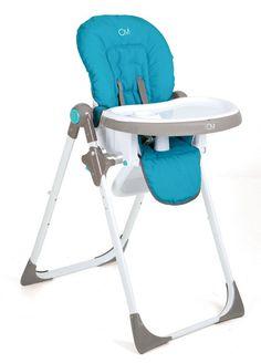 Trona Oui Azul  Olmitos. Trona multiposición. Trona barata. Trona azul. Trona para niño. Oferta 95.55 euros.