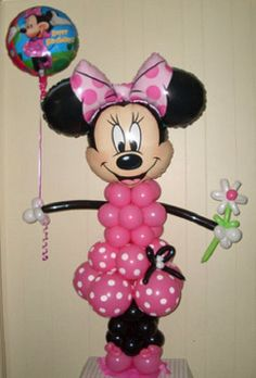 Party Decorations - Minnie Mouse Balloon