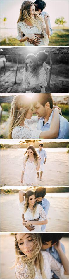 e-session sessão pré-casamento na praia Fortaleza Ceará fotógrafo de casamento Arthur Rosa