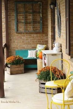 Fall porch❤️