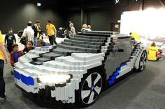 BMW i8 Concept made out of Legos!