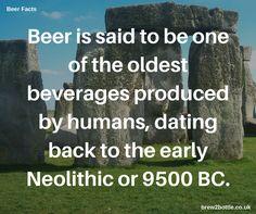 Thirsty work dragging those stones around!  #beer #beerfacts