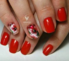 Red manicure indicates about a playfulness and determination of its owner. This variant design will never be boring and its ...