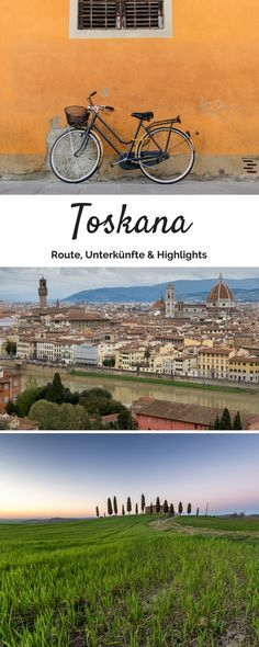 Alles wissenswerte für eine Rundreise durch die Toskana findest du hier :)